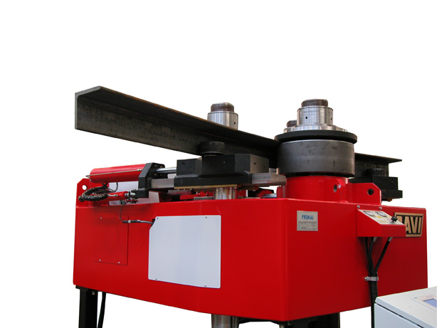 angle roll machine