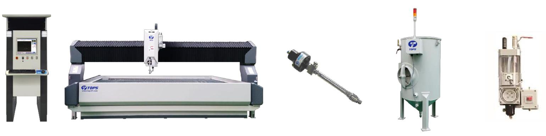 Máy cắt tia nước SJA-T500