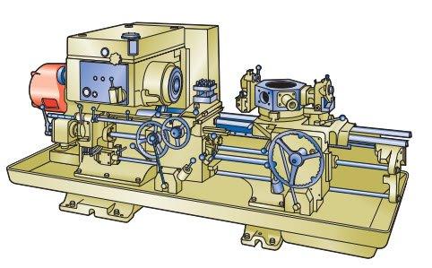 Máy tiện dạng yên ngựa