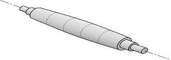 Hình ảnh về trục cán của máy lốc tôn MCA